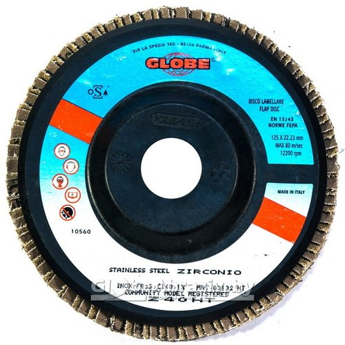 GLOBE FINISHING PRO Coarse 125x22.2